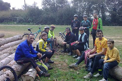 Sortida amb bicicleta a Brunyola 1 - Diumenge, 7 de novembre de 2010