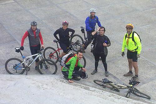 Sortida amb bicicleta a Brunyola 5 - Diumenge, 7 de novembre de 2010