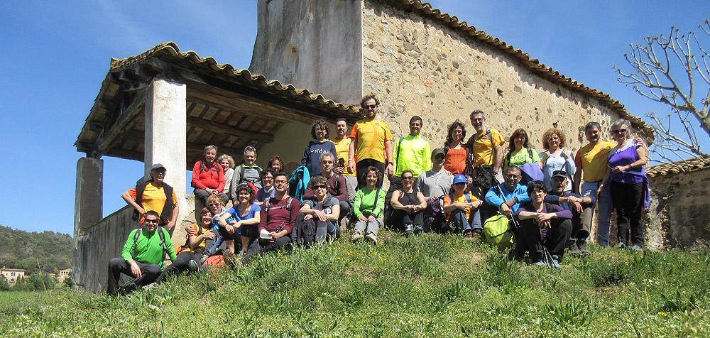 1a etapa del camí de Sant Jaume: Caldes- Sant Romà de Brunyola 1 - Diumenge, 3 d'abril de 2016