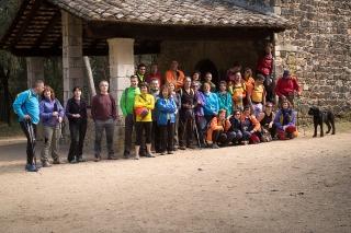 1a etapa del camí de Sant Jaume: Caldes- Sant Romà de Brunyola 4 - Diumenge, 3 d'abril de 2016