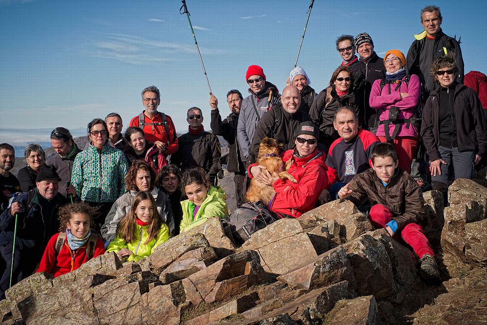 Les Agudes pel camí dels Castellets 3 - Diumenge, 11 de gener de 2015