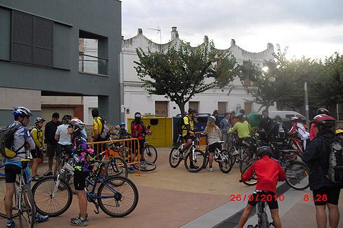Pedalada contra el canvi climàtic 1 - Diumenge, 26 de setembre de 2010