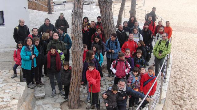 Tamariu - El Far de Sant Sebastià 1 - Diumenge, 13 de gener de 2013