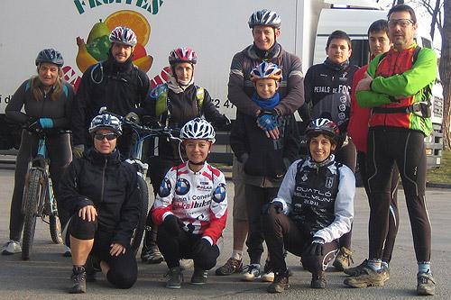 Bicicletada cap a l'interior de la Selva 1 - Diumenge, 19 de febrer de 2012