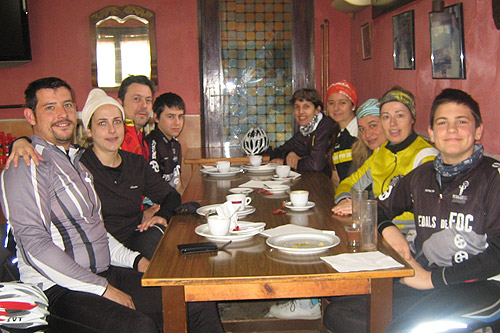 Bicicletada cap a l'interior de la Selva 2 - Diumenge, 19 de febrer de 2012