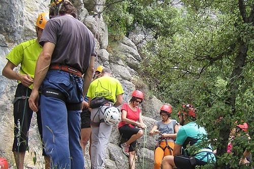 Curset d'escalada 2 - Dissabte 14 i diumenge 15 de juliol de 2012