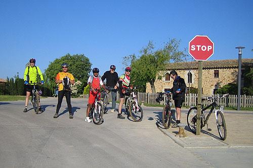 Bicicletada Caldes -Girona - Montfullà - Salitja - Caldes 2 - Diumenge, 5 de maig de 2013