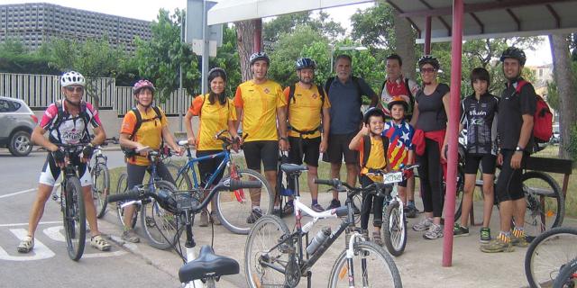 Bicicletada nocturna 1 - Dissabte, 13 de juliol de 2013