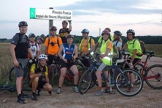 Bicicletada a la Pineda fosca 2 - Dissabte, 30 de juliol de 2011