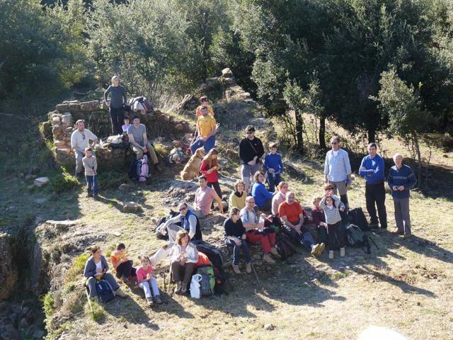 De Santa Pau a Sant Julià del Mont 3 - Diumenge, 22 de gener de 2012