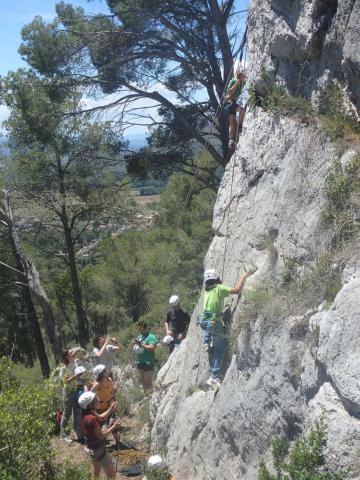 Últim dia del curset d'escalada infantil 2 - Diumenge, 19 de juny de 2016