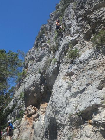 Últim dia del curset d'escalada infantil 3 - Diumenge, 19 de juny de 2016
