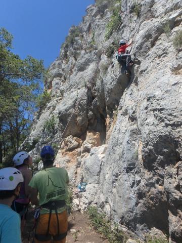 Últim dia del curset d'escalada infantil 4 - Diumenge, 19 de juny de 2016
