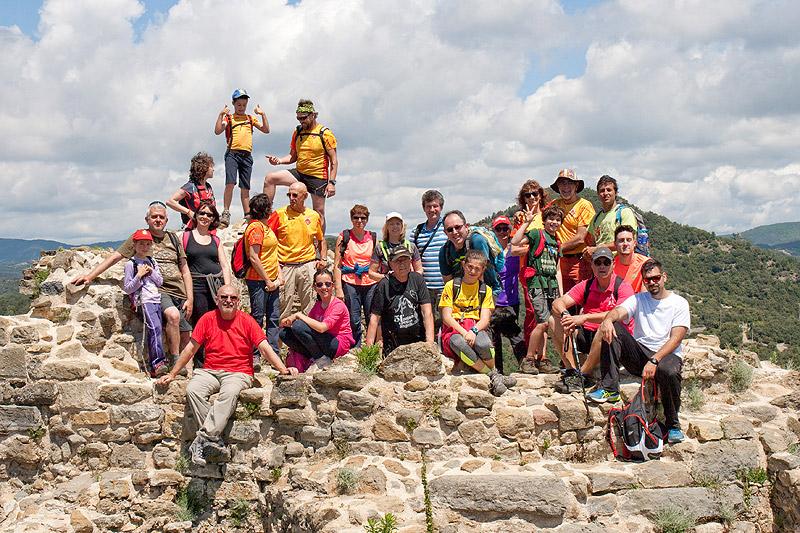 Gorgs i salts de Cogolls i castell d'Hostoles 3 - Diumenge, 29 de maig de 2016