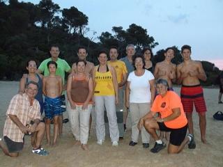 Nocturna a la platja de La Fosca a la platja de Castell 2 - Dissabte, 3 de setembre de 2016