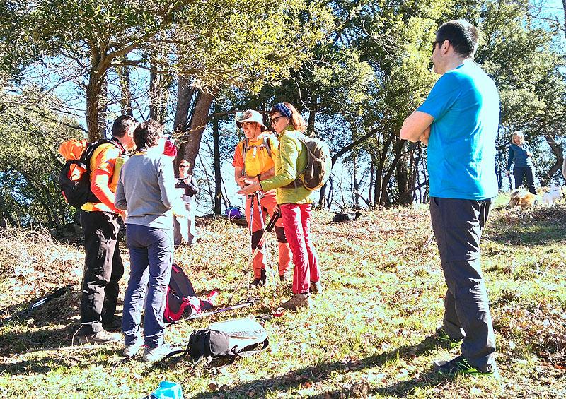 Mieres - Puigsallança 5 - Diumenge, 26 de febrer de 2017