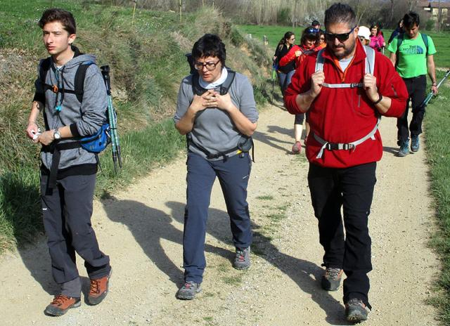 Camí de Sant Jaume: Vall d'en Bas - L'esquirol - Vic 20 - 18 i 19 de març de 2017