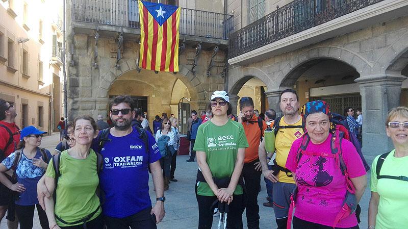 Camí de Sant Jaume: Vall d'en Bas - L'esquirol - Vic 27 - 18 i 19 de març de 2017