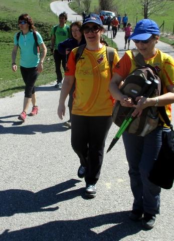 Camí de Sant Jaume: Vall d'en Bas - L'esquirol - Vic 28 - 18 i 19 de març de 2017