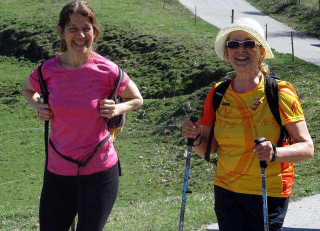 Camí de Sant Jaume: Vall d'en Bas - L'esquirol - Vic 30 - 18 i 19 de març de 2017