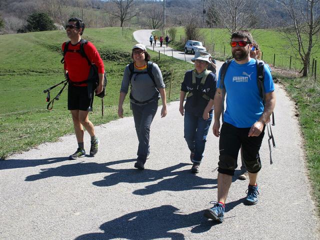 Camí de Sant Jaume: Vall d'en Bas - L'esquirol - Vic 31 - 18 i 19 de març de 2017
