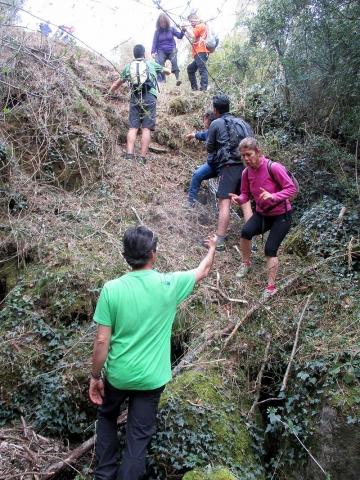 Camí de Sant Jaume: Vall d'en Bas - L'esquirol - Vic 42 - 18 i 19 de març de 2017