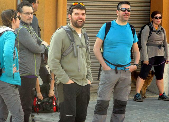 Camí de Sant Jaume: Vall d'en Bas - L'esquirol - Vic 52 - 18 i 19 de març de 2017