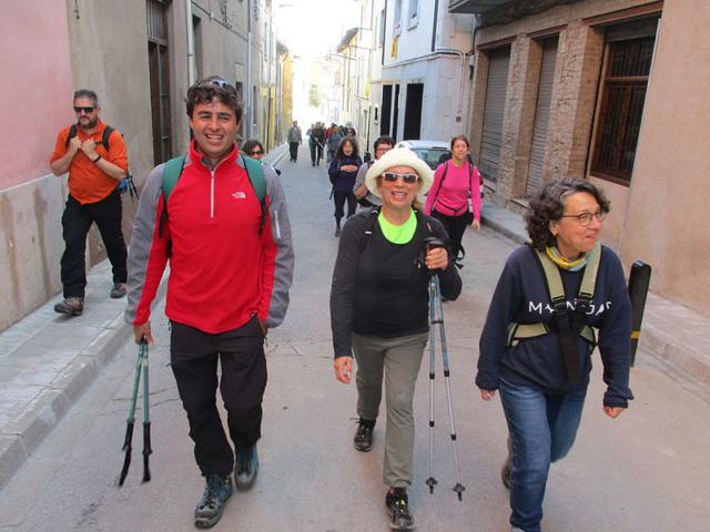 Camí de Sant Jaume: Vall d'en Bas - L'esquirol - Vic 54 - 18 i 19 de març de 2017