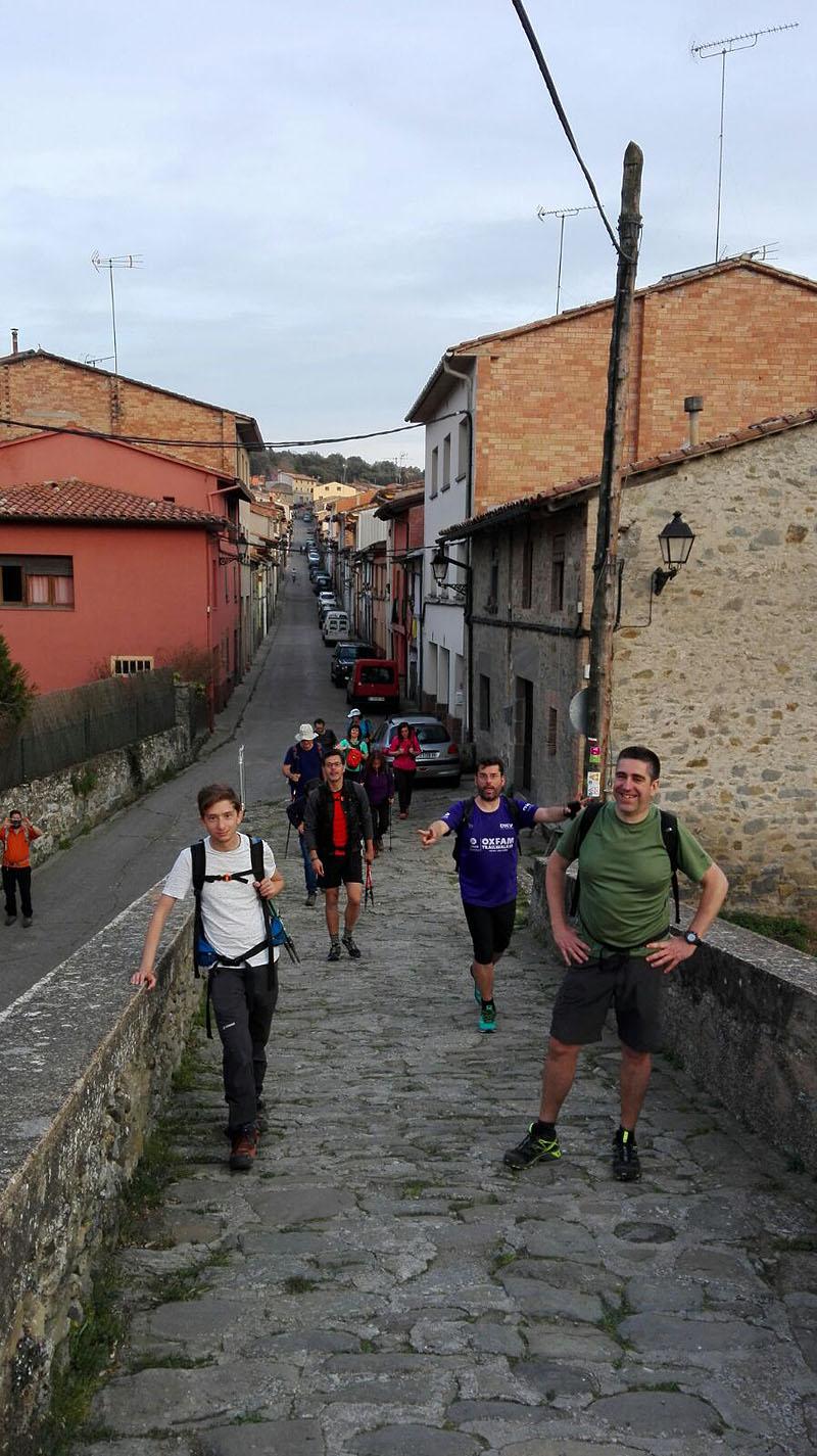 Camí de Sant Jaume: Vall d'en Bas - L'esquirol - Vic 55 - 18 i 19 de març de 2017
