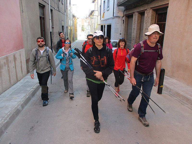 Camí de Sant Jaume: Vall d'en Bas - L'esquirol - Vic 56 - 18 i 19 de març de 2017