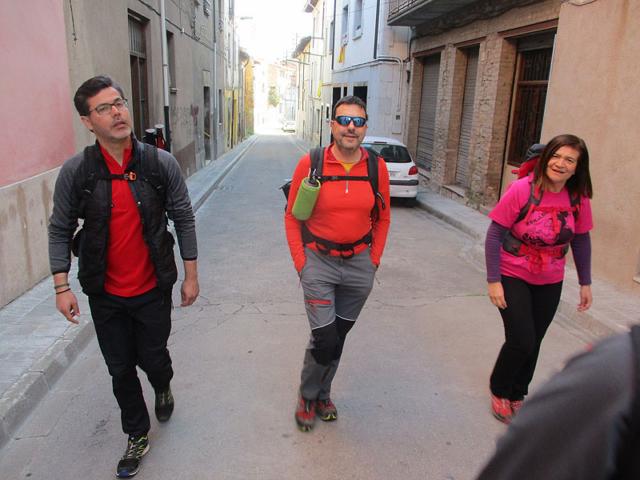 Camí de Sant Jaume: Vall d'en Bas - L'esquirol - Vic 57 - 18 i 19 de març de 2017