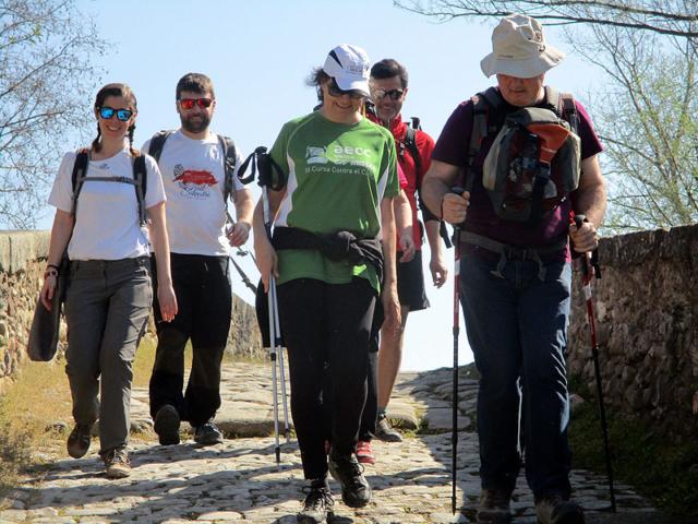 Camí de Sant Jaume: Vall d'en Bas - L'esquirol - Vic 58 - 18 i 19 de març de 2017
