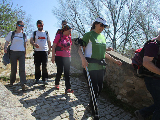 Camí de Sant Jaume: Vall d'en Bas - L'esquirol - Vic 59 - 18 i 19 de març de 2017